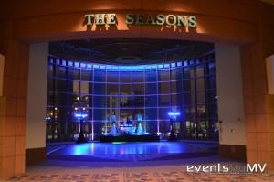 Entering The Seasons Ballroom