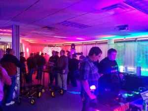 The lighting playroom featuring products from Blizzard Lighting, Chauvet DJ, Eternal Lighting, and more.